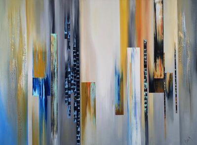 Nina K., 'Sunset Falls', 2016