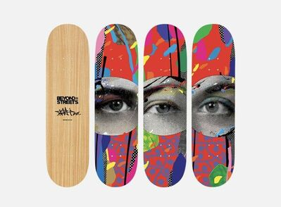 Paul Insect, 'Paul Insect I SEE' 1, 2 & 3 Silkscreened Skateboard Set Edition of 101 Signed Pop Urban Contemporary Art ', 2020