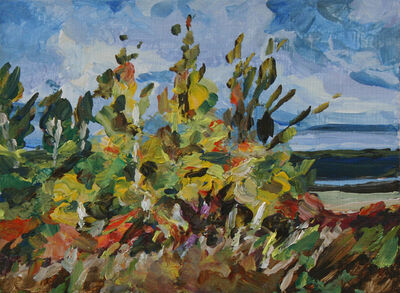Dorothy Knowles, 'Bright Trees on the River'