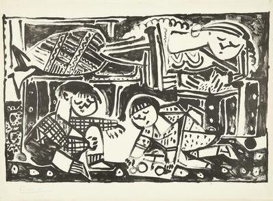 Pablo Picasso, 'La mère et les enfants', 1953
