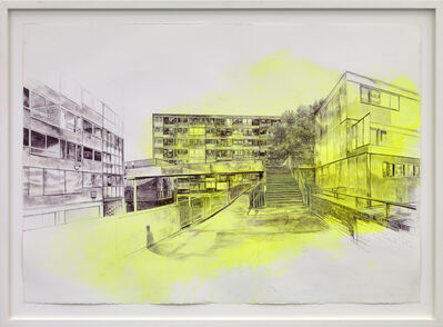 Laura Oldfield Ford, 'Heygate Estate, 1974', 2010