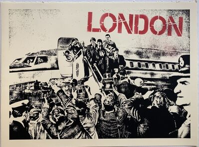 Mr. Brainwash, 'A Good Day's Flight', 2009