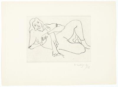 Henri Matisse, 'Nu couché s'appuyant sur le bras droit', 1929