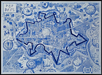 Grayson Perry, 'Map of Days', 2013