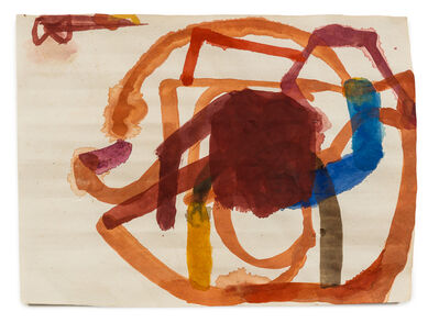 Suzan Frecon, 'Turning red ochre with some other colors', 2002