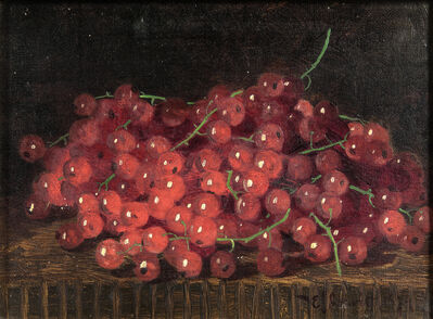 Edward Chalmers Leavitt, 'Still Life with Red Gooseberries', 1879