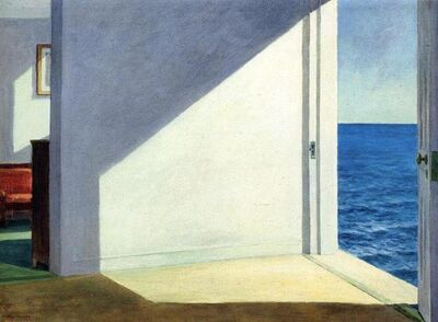 Edward Hopper, 'Rooms By The Sea', 21st Century