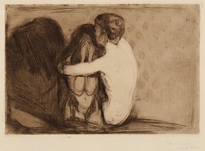 Edvard Munch, 'Consolation or Trost', 1894