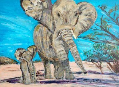 Marjorie Magid, 'Elephants', 2016
