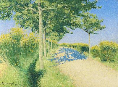 Achille Laugé, 'Paysage de Printemps', 1910