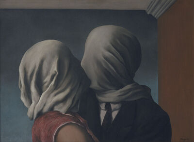 René Magritte, 'The Lovers (Les Amants)', 1928