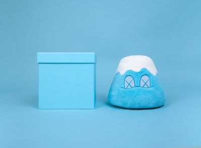 KAWS, 'Holiday Japan Mt Fuji Plush Blue By KAWS', 2019