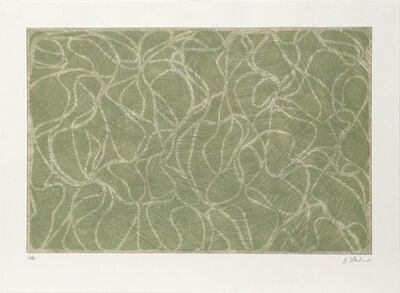 Brice Marden, 'Red Line Muses from the series Muses and Meres', 2001