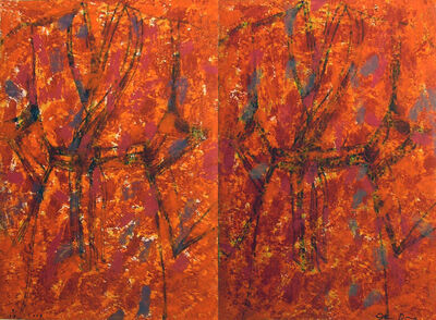 Jim Dine, 'The Hot Dog (diptych)', 2009