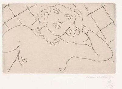Henri Matisse, 'Torse, Fond à Losanges', 1929