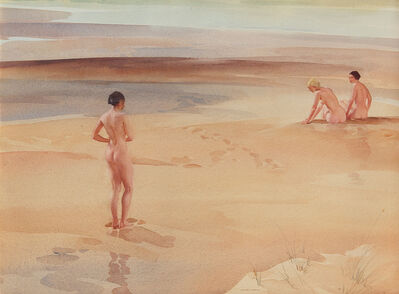 William Russell Flint, ' A Group of Three'