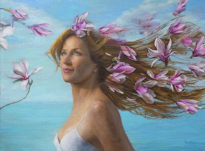 Michael Van Zeyl, 'Partly Cloudy With A Chance For Magnolias (Portrait model: René Romero Schuler)', 2020