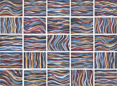 Sol LeWitt, 'Brushstrokes: Horizontal and Vertical', 1996