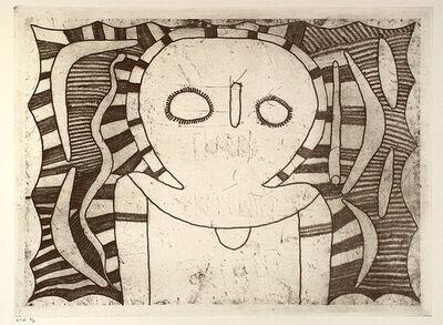 Louis Karadada, 'Wandjina figure', 1998