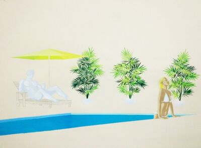 Christian Little, 'Dionysus Poolside'