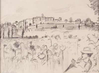 Arthur Boyd, 'Sunflowers at Montefoscoli', ca. 1994
