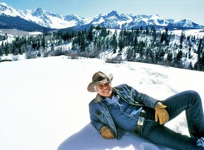 Harry Benson, 'Ralph Lauren, Colorado', 1983