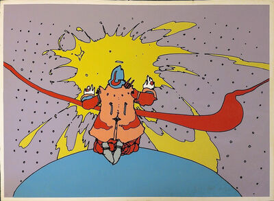 Peter Max, 'ENTERING A NEW STATE', 1972