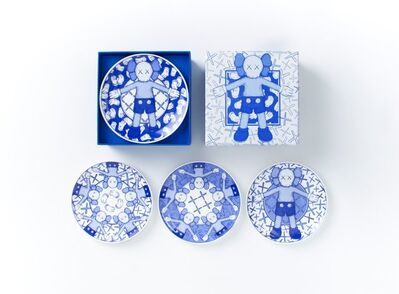 KAWS, 'Holiday Taipei Ceramic Plate Set (Set of 4)', 2019