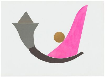 Geta Bratescu, 'Fără titlu (Jocul formelor) / Untitled (Game of Forms)', 2012