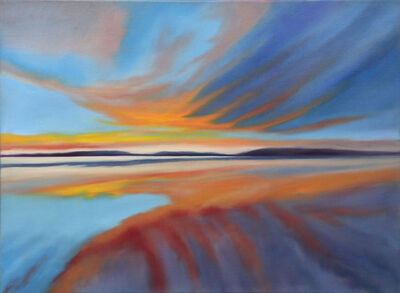 Douglass Freed, 'Lake Sunset #15', 2020