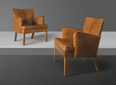 Kaare Klint, 'A pair of early 'Easy' armchairs, model no. 5313', designed 1934