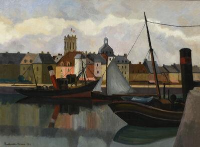 Paul Emile Pissaro, 'Le Port de Dieppe', 1924