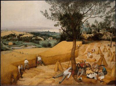 Pieter Bruegel the Elder, 'The Harvesters', 1565
