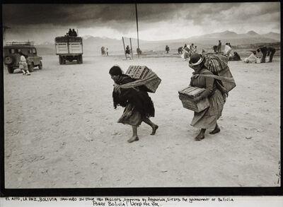 Danny Lyon, 'El Alto, La Paz, Bolivia', 1980