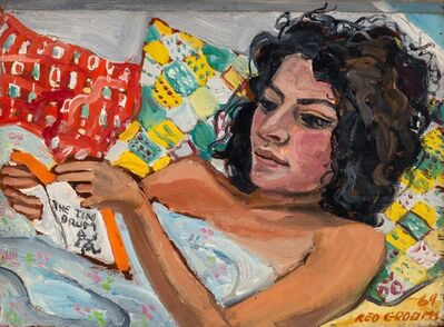 Red Grooms, 'The Tin Drum (Woman Reading)', 1964