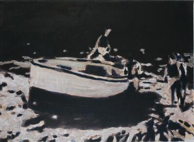 Heribert C. Ottersbach, 'Studie zu Nachtfahrt', 2009