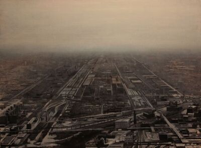 José Manuel Ballester, 'Infinite city 2', 2000