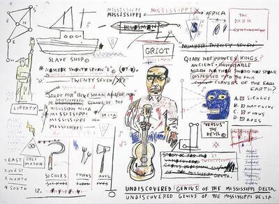 Jean-Michel Basquiat, 'Undiscovered Genius', 1982-83/2019