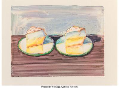 Wayne Thiebaud, 'Untitled (Cake)', 2002