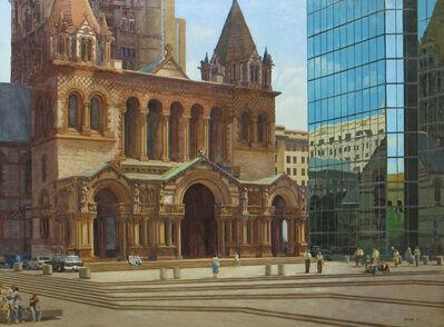 Joel Babb, 'Trinity Church, Boston, Massachusetts', 1981