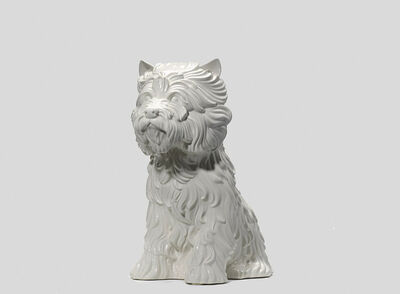 Jeff Koons, 'Puppy (vase in the form of West Highland Terrier)', 1998