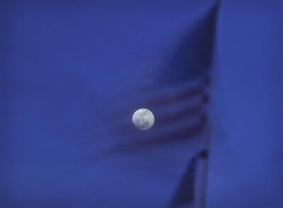 Ken Kitano, 'National Flag, Santa Monica, CA, from the series 'Watching the Moon'', 2013