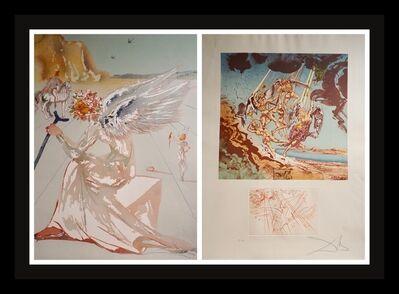 Salvador Dalí, 'Homage a Homere 2 Piece Suite', 1977