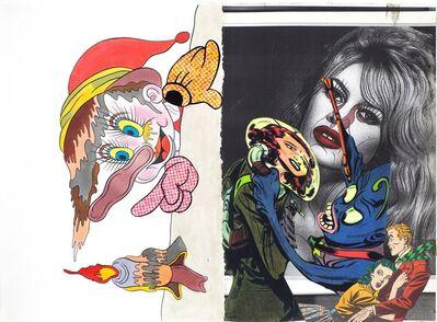 Keiichi Tanaami, '「奇想の図譜」シリーズ その 6', 2016