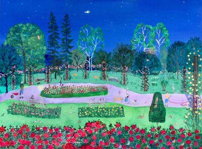 Emma Haworth, 'Midnight Rose Garden', 2019