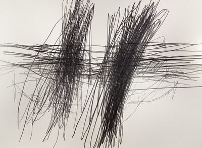 William Anastasi, 'Without Title (Blind Drawing NY 6.21.90 6:19 - 6:26 PM)', 1990