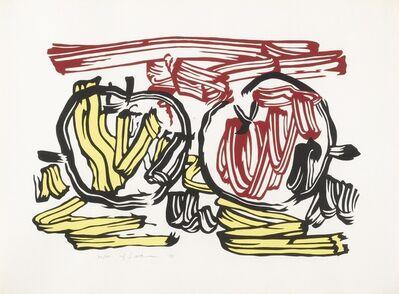 Roy Lichtenstein, 'Red Apple and Yellow Apple (C. 197)', 1983