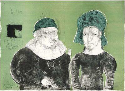 Jose Luis Cuevas, 'Crime', 1968