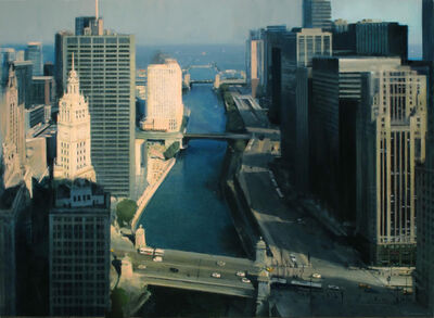 Ben Aronson, 'Chicago River From Above', 2016