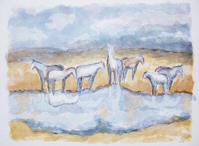 Theodore Waddell, 'Ennis Horses I'